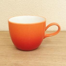 マグカップ オレンジ コローレ 美濃焼 業務用