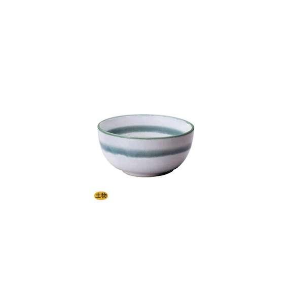 丼うどん・そば・海鮮グリーン帯丸6.0丼白陶器美濃焼業務用食器