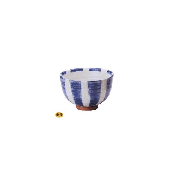 丼うどん・そば・海鮮一珍紺十草夏目5.0丼陶器美濃焼業務用食器