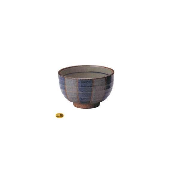 丼うどん・そば・海鮮藍十草夏目5.0丼陶器美濃焼業務用食器