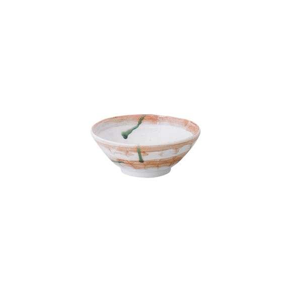 ラーメンどんぶり灰飛翠6.8けずりラーメン丼食器陶器美濃焼日本製
