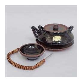 土瓶蒸し セット 平形 天目 器 業務用食器 和食器