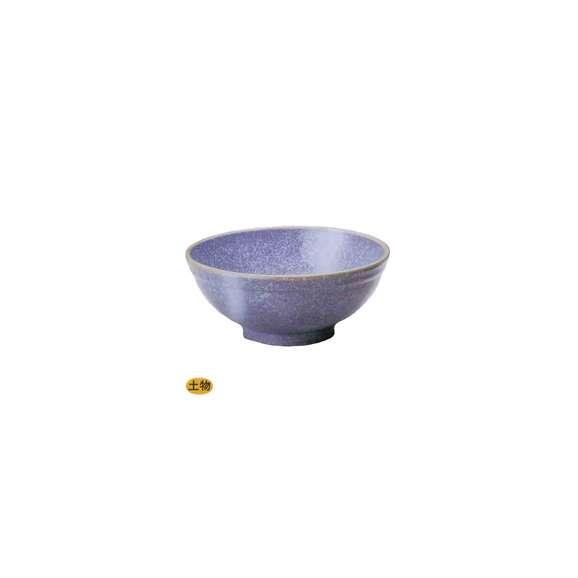 丼うどん・そば・煮物紫雲玉渕7.0丼鉢陶器美濃焼業務用食器