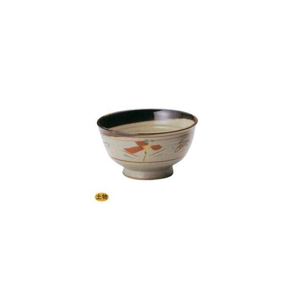 丼うどん・そば・煮物花唐津高浜5.8丼鉢陶器美濃焼業務用食器