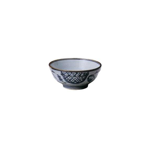 丼うどん・そば・煮物稲穂6.0玉渕丼鉢陶器美濃焼業務用食器