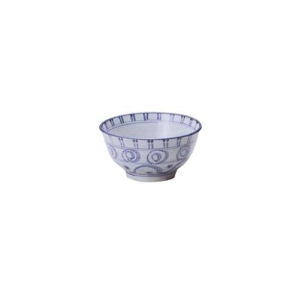 丼うどん・そば・煮物三島紋5.5多用丼白どんぶり鉢陶器美濃焼業務用食器