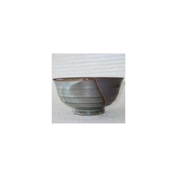 丼うどん・そば・煮物山かすみ深口5.5丼黒どんぶり鉢陶器美濃焼業務用食器