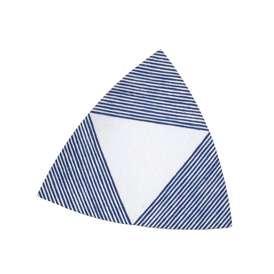 25cm三角形プレート インディゴブルー トリプルプレート Indigoインディゴ 洋食器 美濃焼