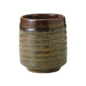 湯呑み 湯呑み(大) 長湯呑み 黄華鉄砂 和食器 美濃焼