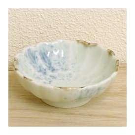 醤油小皿 丸 吹墨菊彫 和食器 美濃焼 業務用