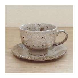 コーヒーカップソーサー 茶かいらぎ 和食器 美濃焼