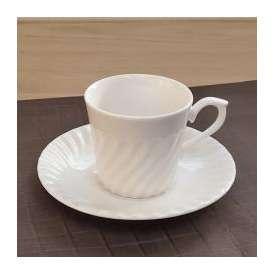 コーヒーカップソーサー NB500ネジ 洋食器 美濃焼 業務用