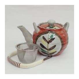 土瓶 6号 赤木の葉 970cc 業務用 美濃焼 日本製