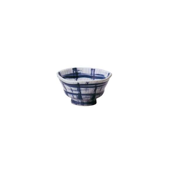 丼うどん・そば・煮物ささら格子なぶり6.0丼白鉢陶器美濃焼業務用食器
