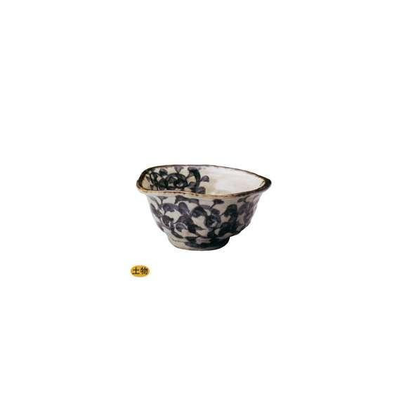 丼うどん・そば・煮物タコ唐草変型5.5丼鉢陶器美濃焼業務用食器