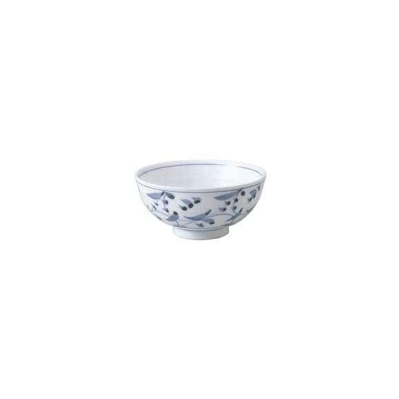ご飯茶碗呉須唐草中平業務用食器美濃焼
