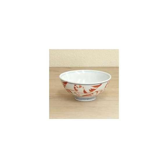 ご飯茶碗紅唐草中平業務用食器美濃焼