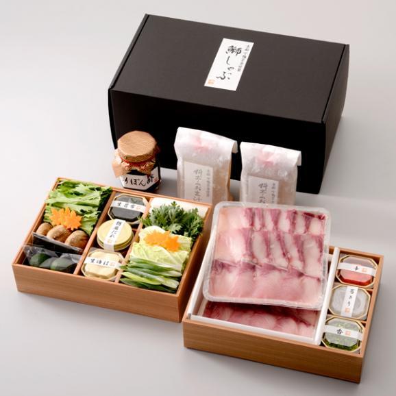 【冬季限定】料亭のぶりしゃぶ鍋04