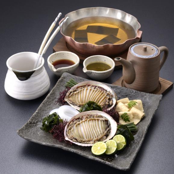 【冬季限定】料亭の鮑しゃぶ鍋03