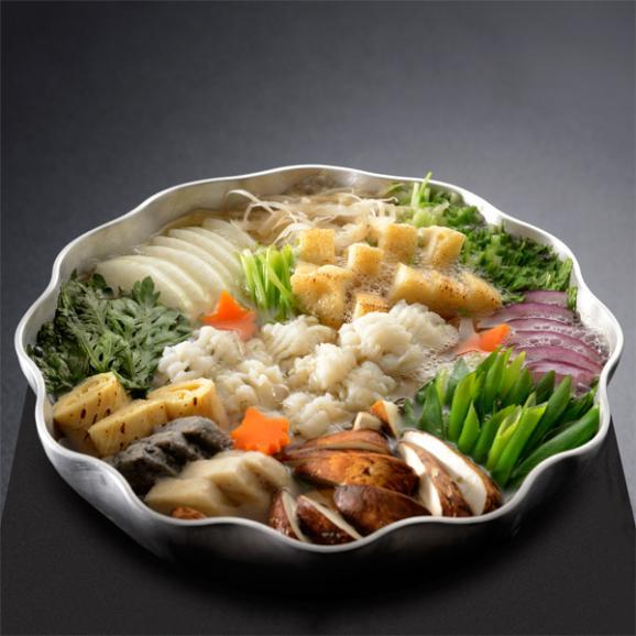 【秋季限定】料亭の鱧と松茸のはりはり鍋 02