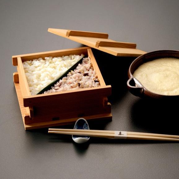 料亭の五色麦とろご膳 03
