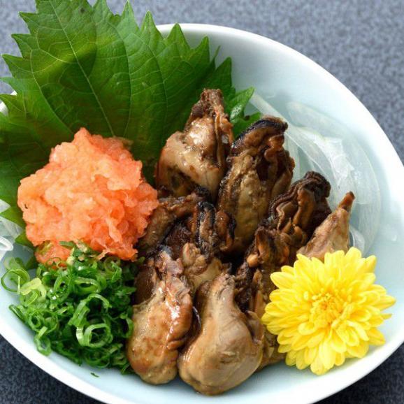 [のまえ]JIMONO「牡蠣の一夜干し・地頭鶏の炭火焼・屋久島の鯖燻製」02