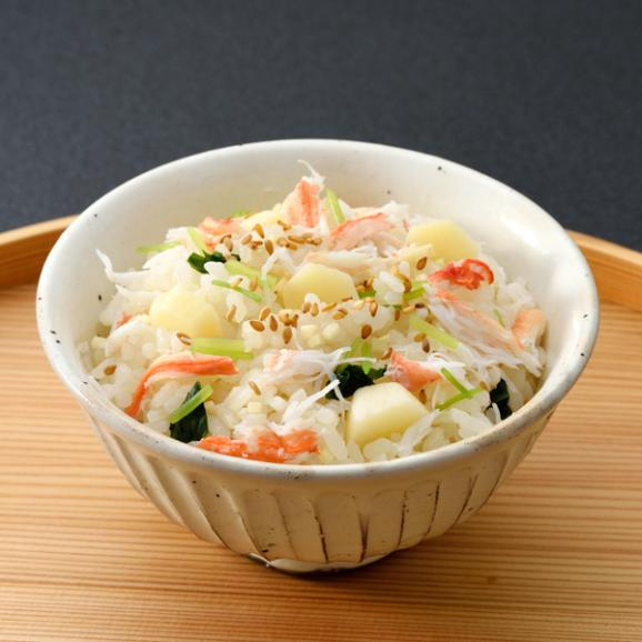 【冬季限定】蟹と慈姑の炊込みご飯02