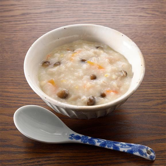 料亭の体にやさしい朝雑炊 もち麦入りしめじ玄米雑炊02