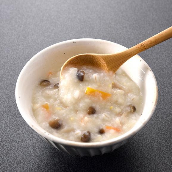 料亭の体にやさしい朝雑炊 もち麦入りしめじ玄米雑炊04