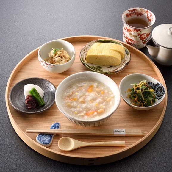 料亭の体にやさしい朝雑炊 もち麦入り大豆玄米雑炊03