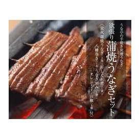 欲張り炭焼き蒲焼うなぎセット(炭火蒲焼うなぎ2尾+肝しぐれ煮1袋+八幡巻き1本+うなぎ刻み1袋)