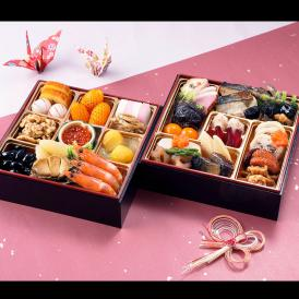 【おせち料理 2019年 寿】銀座割烹里仙 和風二段重「寿」