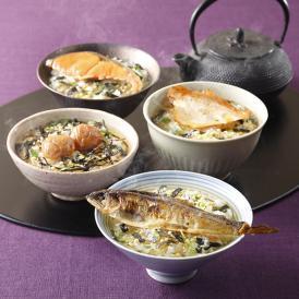 銀座割烹里仙監修 出汁茶漬けセット(6食入り)
