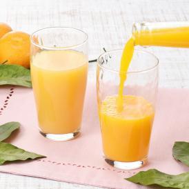 愛媛県奥南地区で採れた2種類の柑橘をストレートジュースに仕上げました。