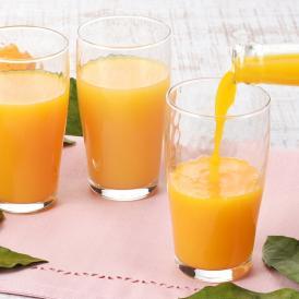 愛媛県奥南地区で採れた3種類の柑橘をストレートジュースに仕上げました。