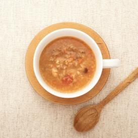 6種の豆と5種の雑穀がたっぷり!玉ねぎの甘みが「ギュッ」とつまった「食べるスープ」です