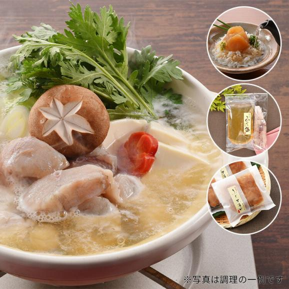 【送料込】真ふぐ鍋・真ふぐ茶漬けセット01