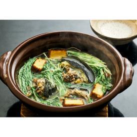 【日本料理  太月】すっぽん鍋 プレミアムミールキット 2人前 送料無料