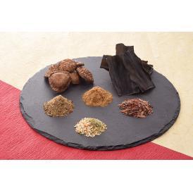 天然素材が楽しめる4種のだしパックと干し椎茸、昆布の詰合せ