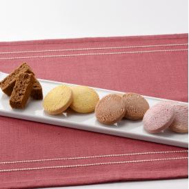 【送料込】米粉でつくった三種のクッキーとラスクの詰合せ