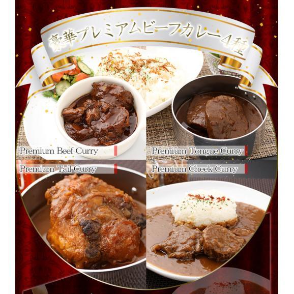 プレミアムビーフカレー4種8食セット01