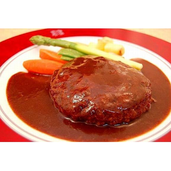 煮込みハンバーグステーキデミグラスソース02