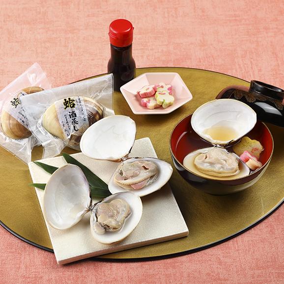 九十九里浜蛤酒蒸しお吸物セット01
