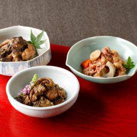 お料理 旬楽えびす 黒牛すじ煮込み3種セット