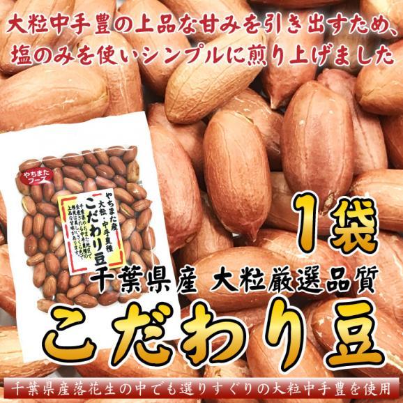 メール便 新豆 落花生 殻ナシ 大粒 こだわり豆 千葉産 70g×1袋 ピーナッツ お試し01