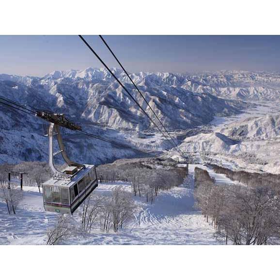 【スマリフ】六日町八海山スキー場 早割リフト1日券2枚綴り<全日┃大人>01