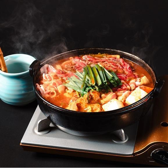 泣けるほど旨い… 韓辛焼セット【一人前】届いてすぐに食べられるアルミ鍋入り01
