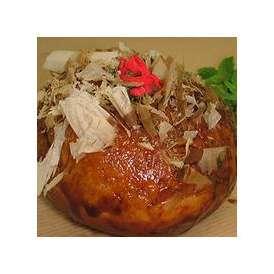 【たこ焼きパン】たこやキャベツを生地に包み、まさにたこ焼き!なパン。大きさはたこ焼きの5倍以上(1個約80g)