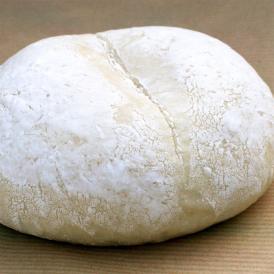 【白パンカスタード】バニラビーンズをたっぷり使った手作りカスタードクリーム。そのクリームを包んだもちもち食感のクリームパン(1個約70g)