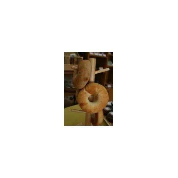 【ベーグル(プレーン)】湯だね製法で作った適度に硬いもちもちベーグル。サンドとしてはもちろん、そのままでもおいしくいただけます(1個約75g)セール02